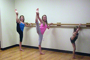 Releve' rises up to meet young dancers' needs