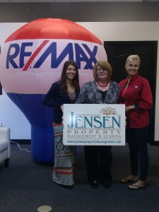 Kicking off their merge are Jordan Bradford, Lucy Rutner and Cindy Risinger. Photo by Stephanie Frehner