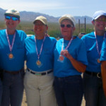 Senior Games Target Pistol Shooting draws 60 competitors
