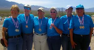 Senior Games Target Pistol Shooting draws 60 competitors