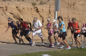 Saturday road race included runners 5 to 81 years