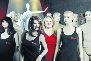 Mannequin maker builds bodies of work heads over heels, hands over fists