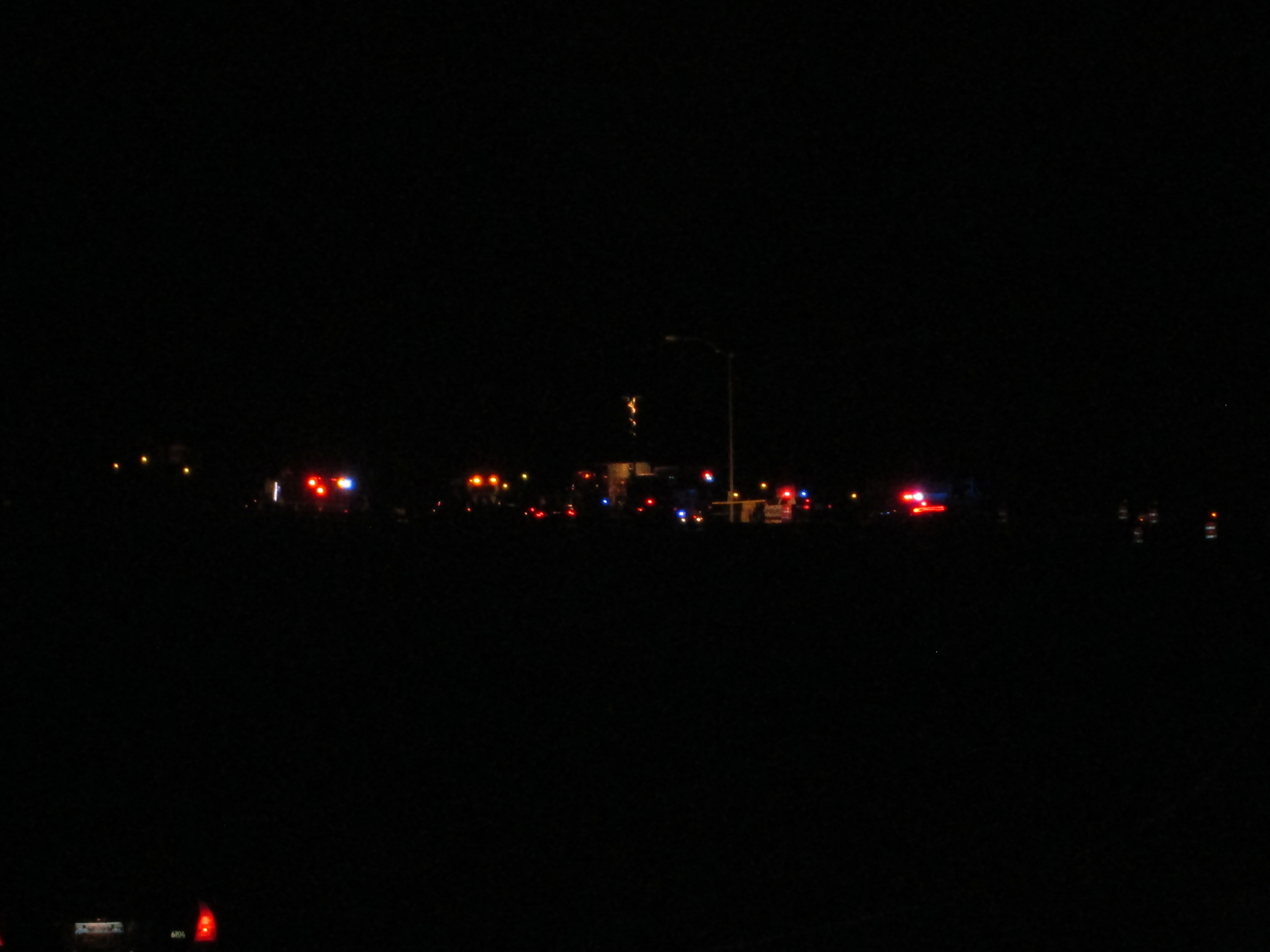 Crash leads to power outage on NE side of Mesquite