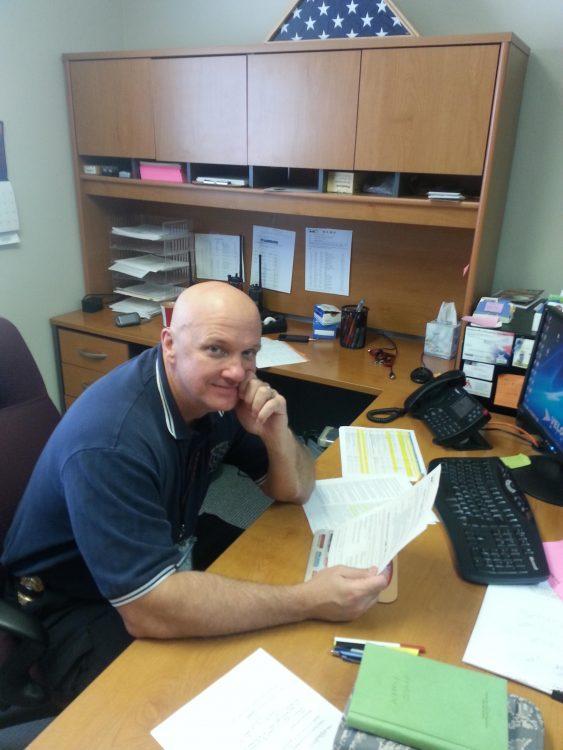 Local Fire Chief Completes International Professional Designation Process