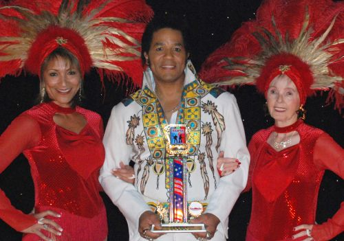Robert Washington of Auburn, Maine, who won the 2012 Elvis Rocks Mesquite, returns for the fifth annual show June 20-21 in the CasaBlanca Showroom of the CasaBlanca Resort. Submitted photo.