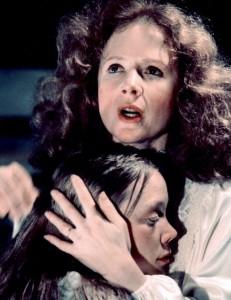 Piper Laurie comforting Sissy Spacek in Carrie