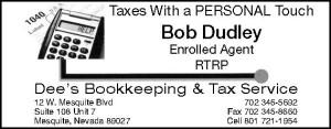 Dee's Tax