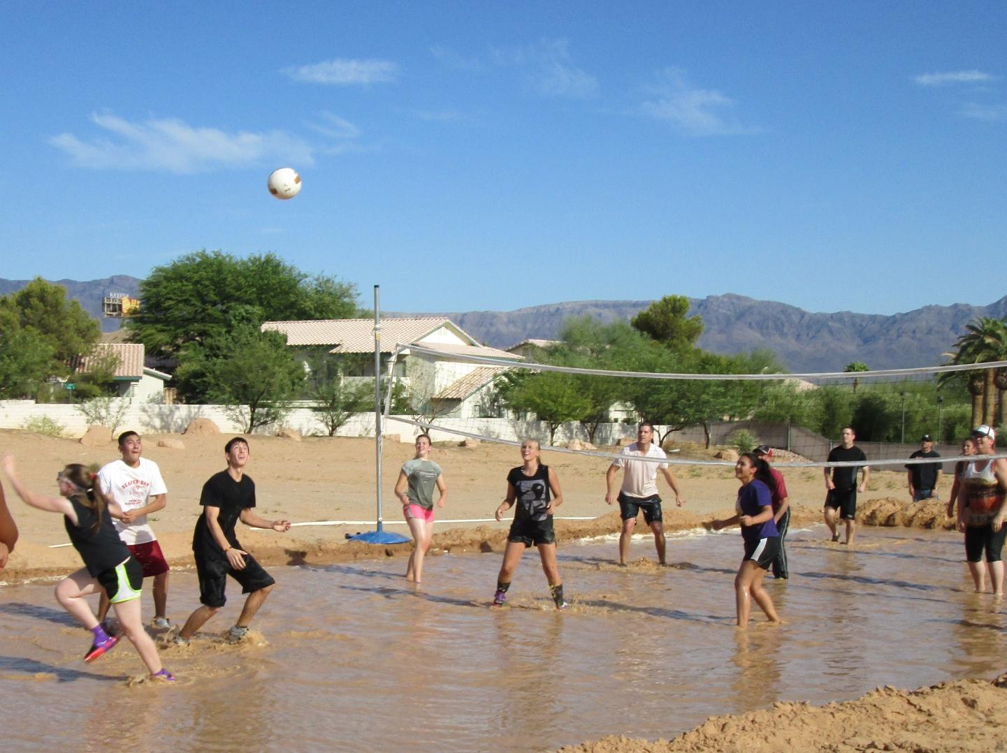 Mudd Volleyball a success for Rotary