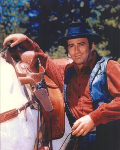 James Drury as The Virginian. Courtesy of James Drury.