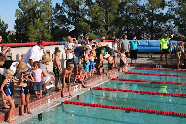 Last weekend's swim competition brings back medals