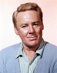 Color publicity shot of Van Johnson