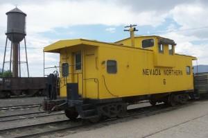 Nevada Northern Railway yard, Ely, Nevada - July 2014