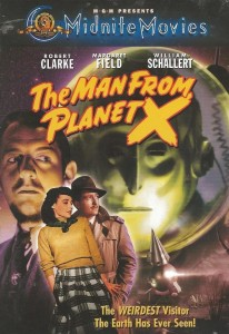 Advertisement for The Man From Planet X - Schallert plays the sinister Dr. Mears.