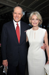 Constance Towers and husband John Gavin Photo provided by publicist
