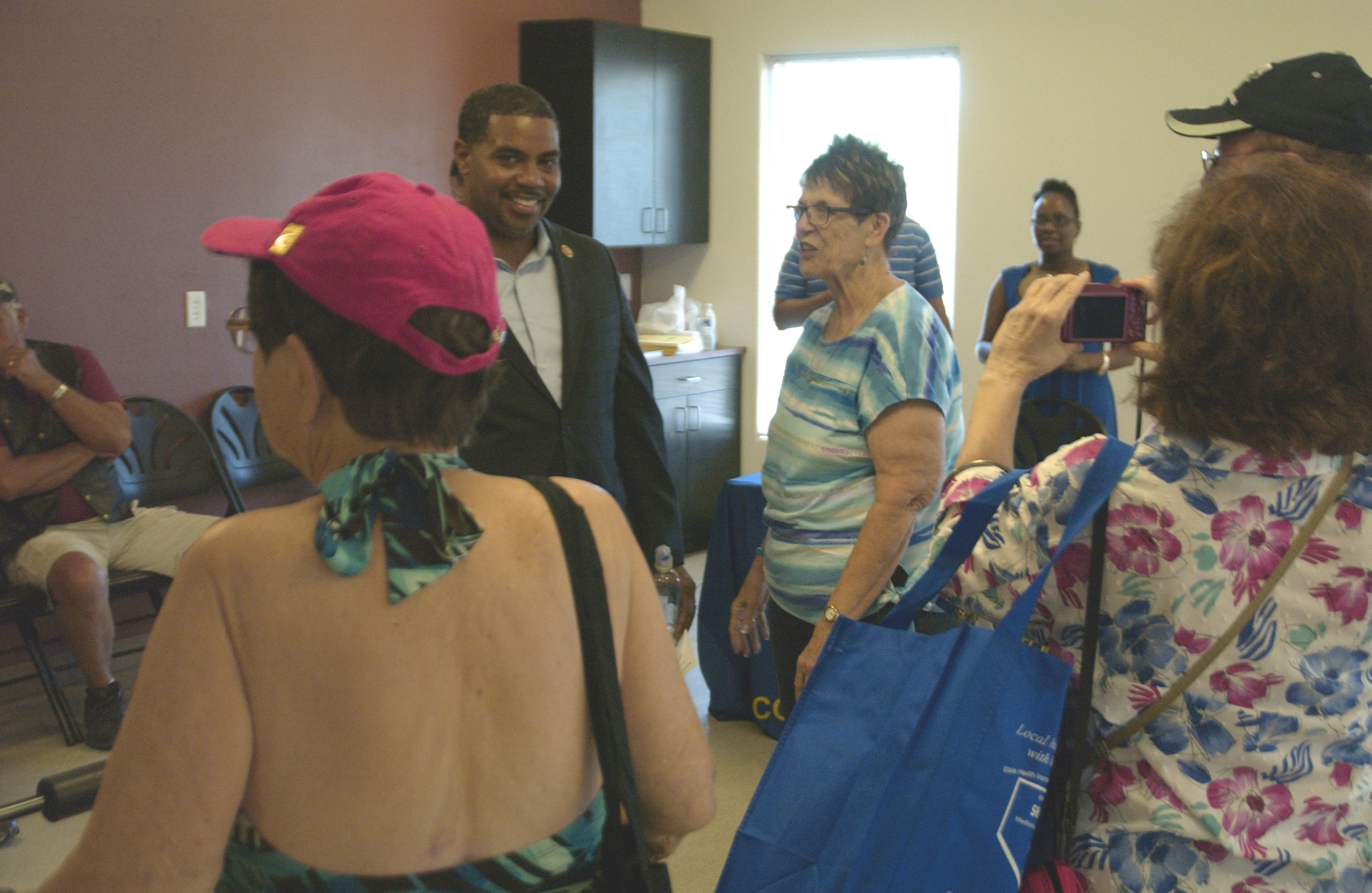 Horsford Visits Senior Resource Fair