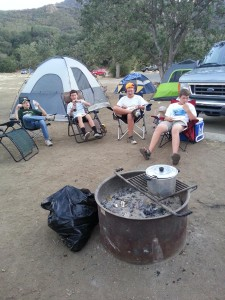 Scouts enjoy the outdoors during their Summer Camp trip. Submitted photo.