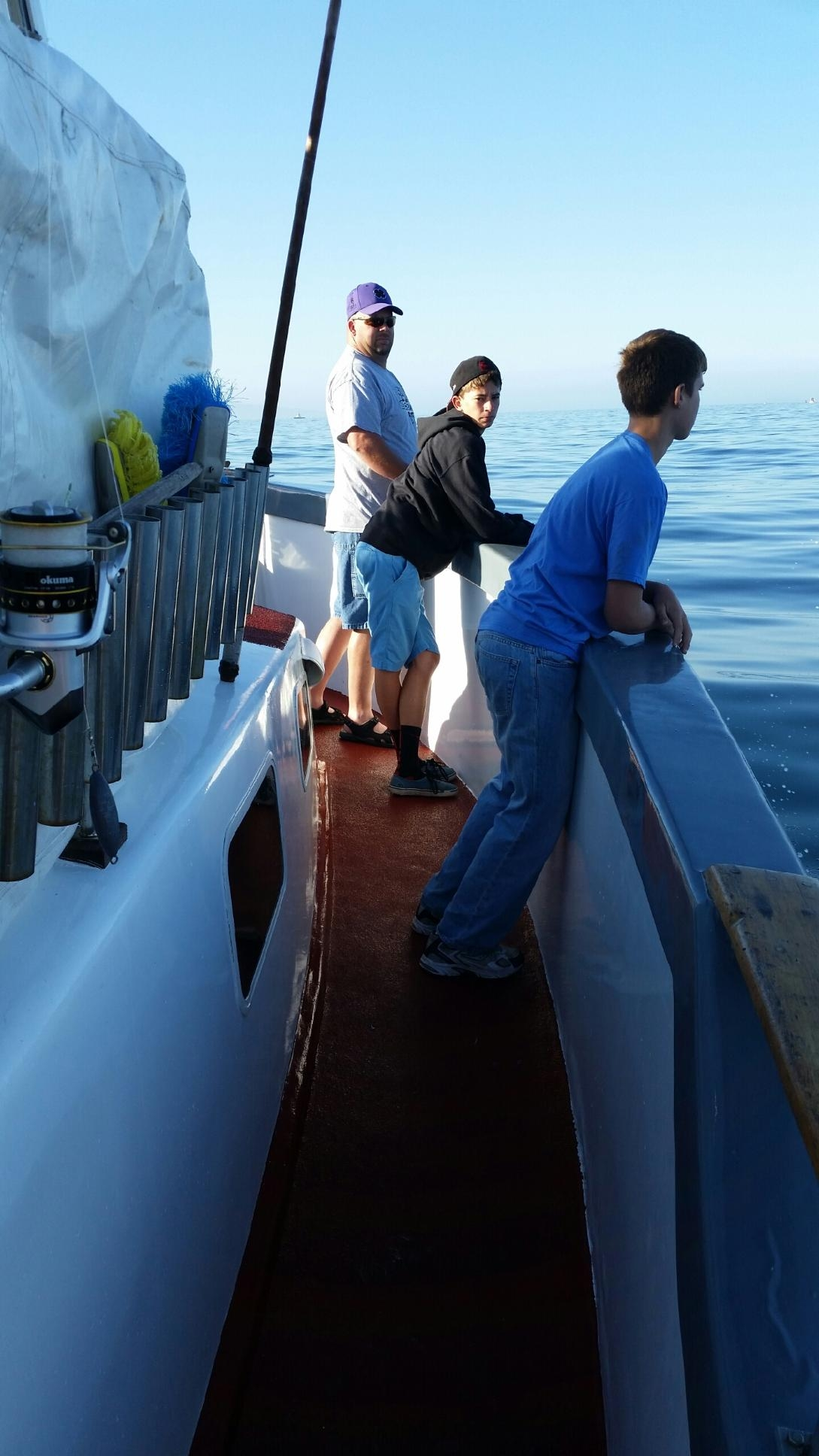 Scouts travel to california mesquite local news for Deep sea fishing california