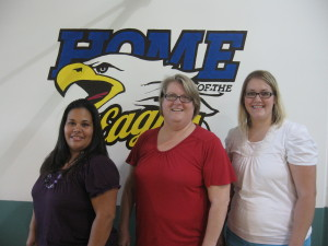 Edwina Jauregui, Christy Lindberg, and Michelle Hall