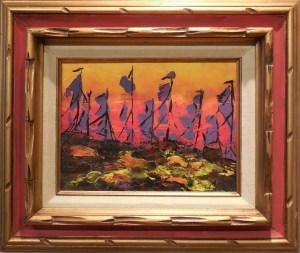 Armada, by Karen White, Barstow Art Guild