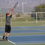 Bulldogs boys tennis defeats Roadrunners 12-6; Girls lose