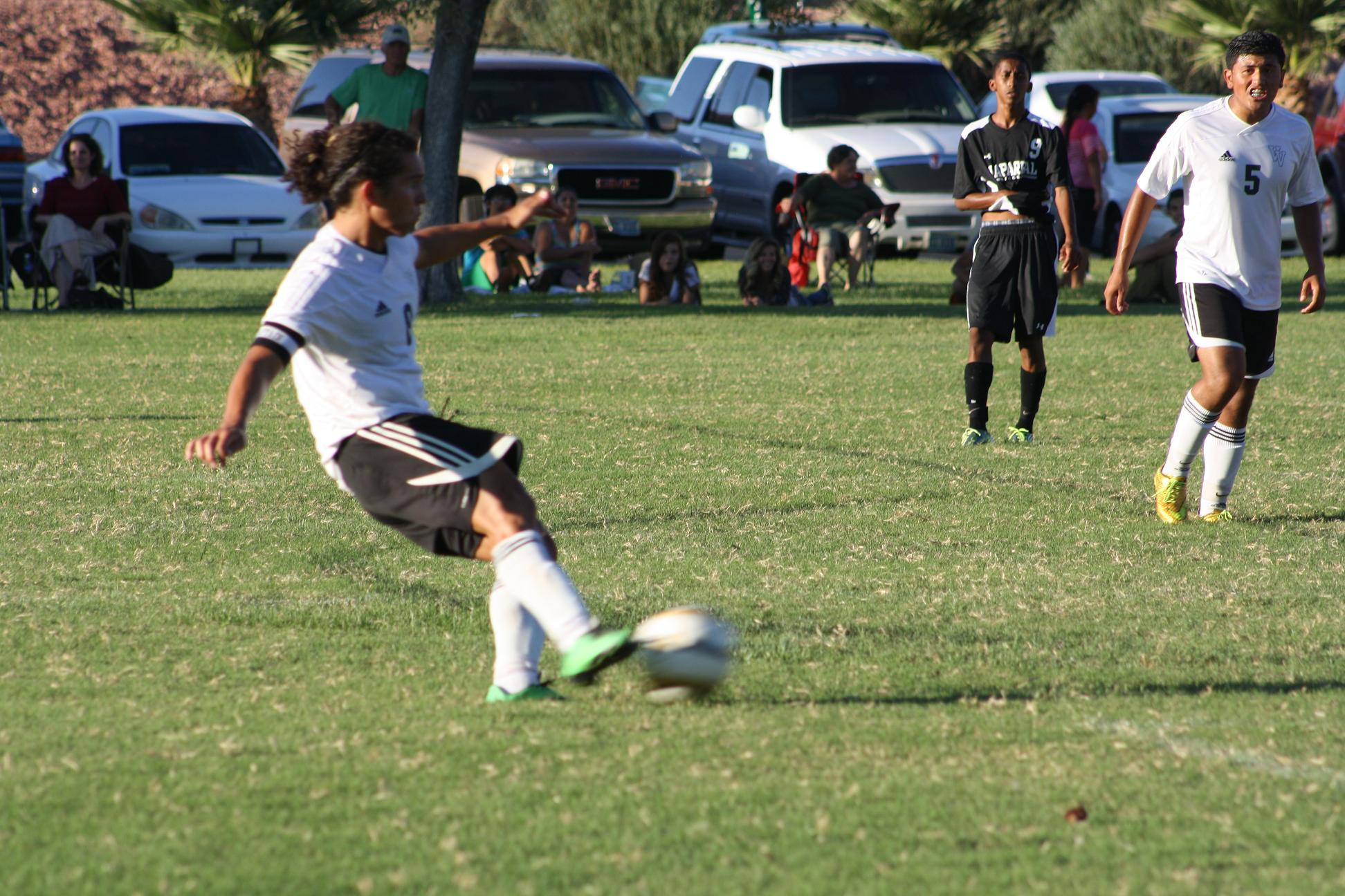 Cowboys outplay Bulldog soccer boys 4-1; Girls' team wins