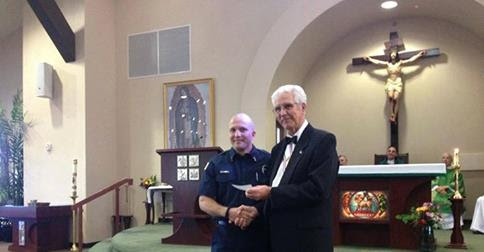 David Neufeld Named Mesquite Firefighter of the Year