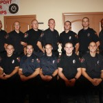 Mesquite Fire Department hold Fire Academy Graduation and Pinning Ceremony
