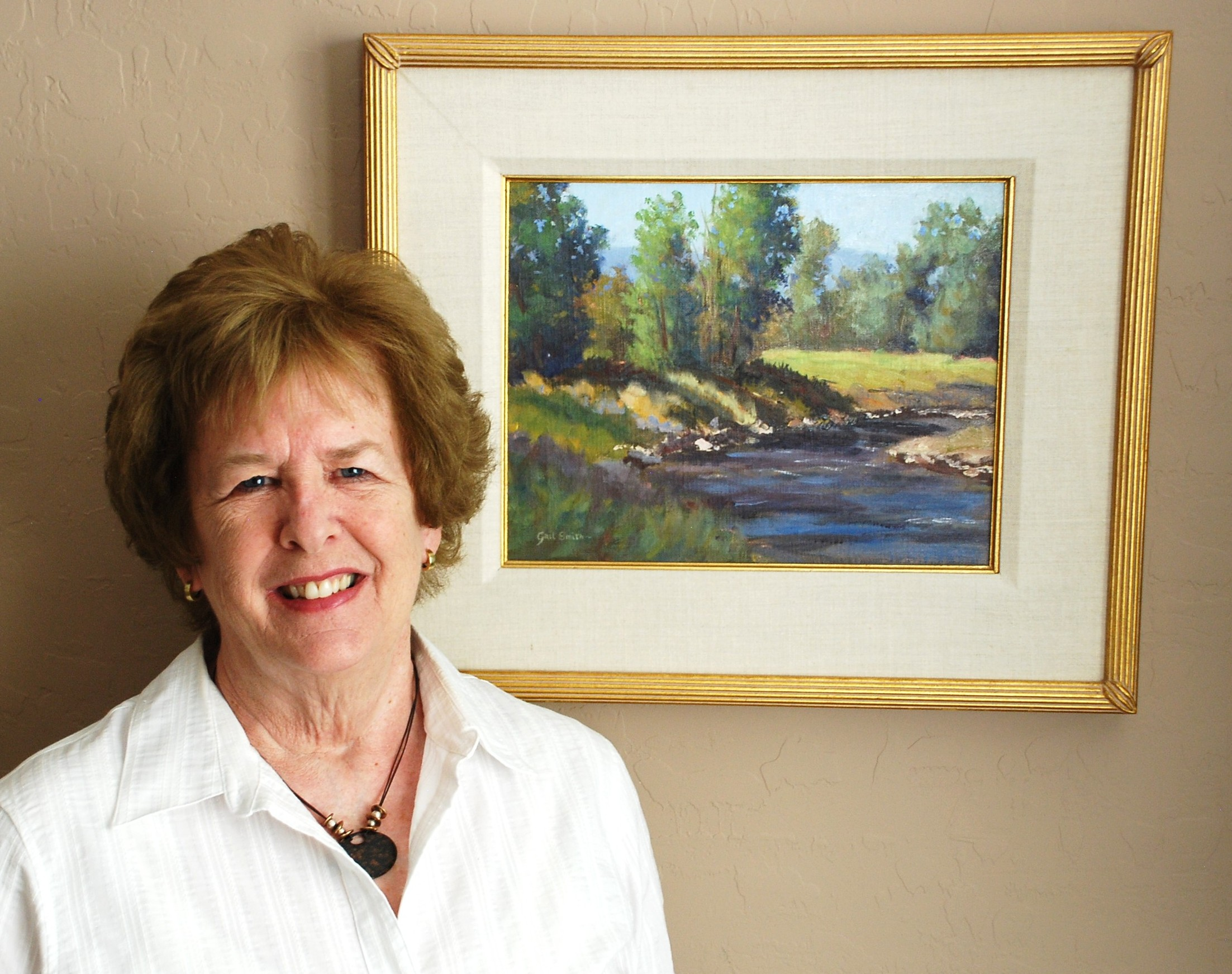 Gail Smith Offers Painting Class