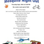 Mesquite Night Out tonight at Rec Center field