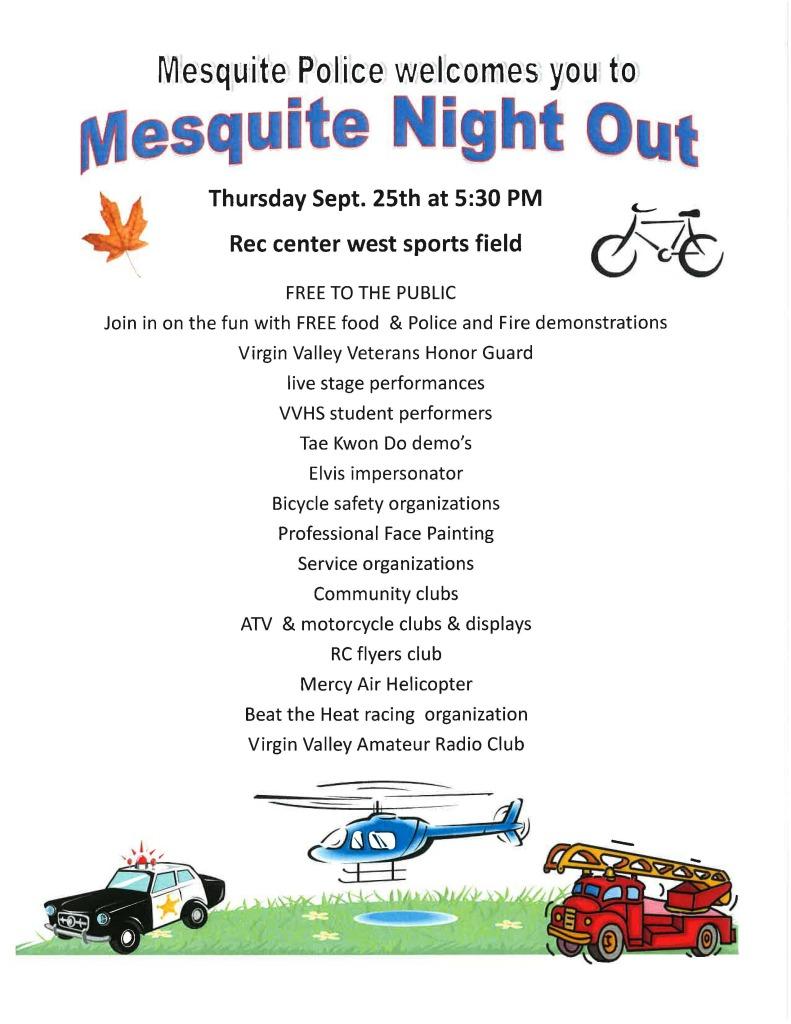 MNO invite flyer to community