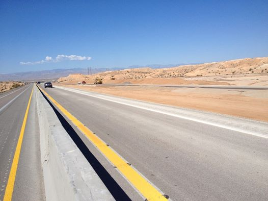 NDOT Swiftly Opens Additional Lanes on I-15 Near Moapa