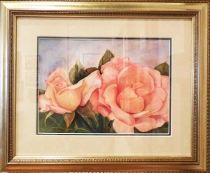 Peachy Keen by Juanita Becker, Dixie Watercolor Society