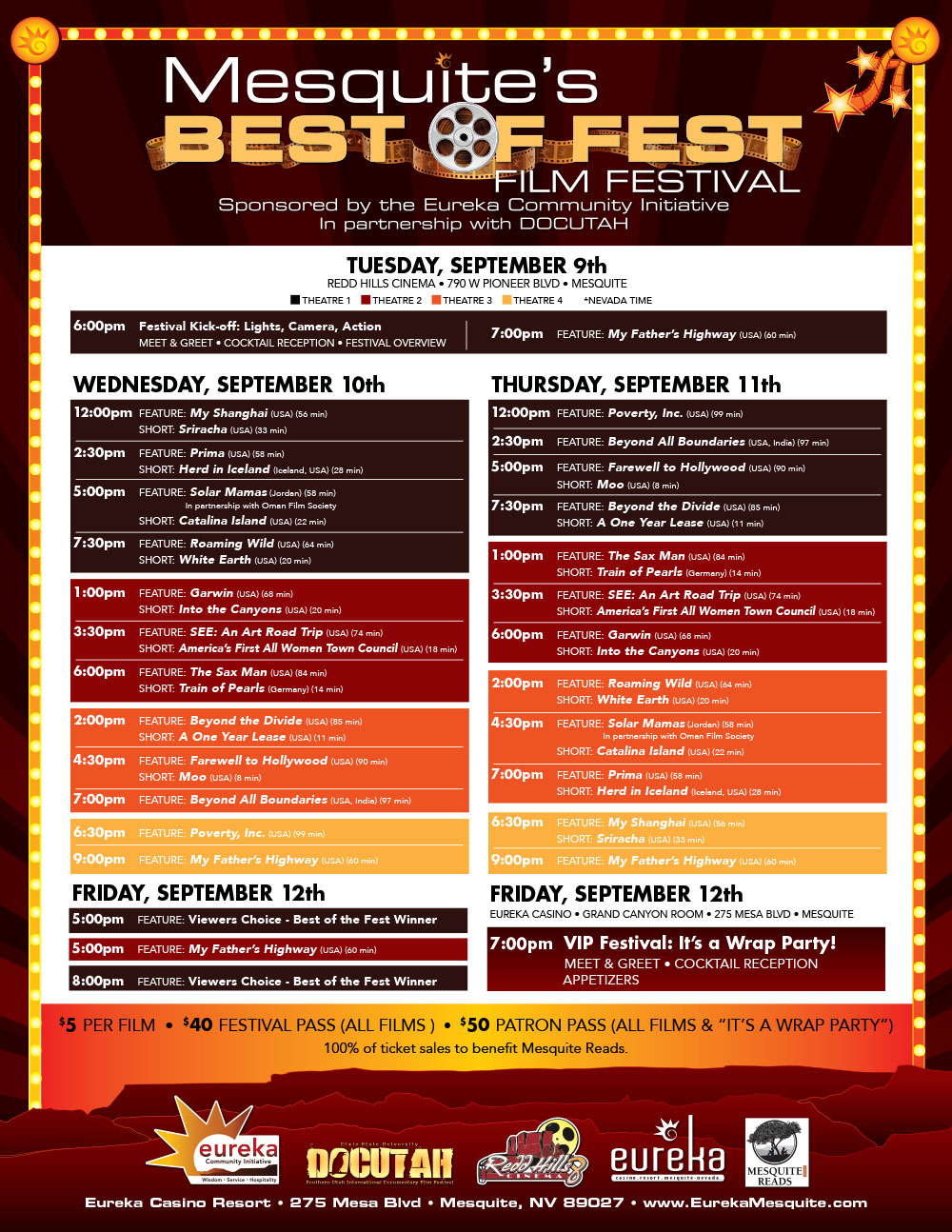 Best of Fest Film Festival starts tonight