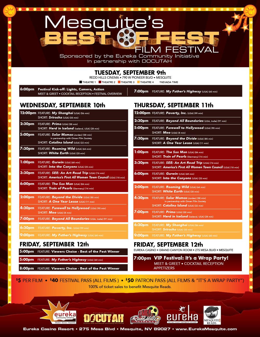 Best of Fest Film Festival starts tonight