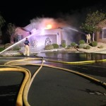 Early Morning Fire Heavily Damages Sun City Home