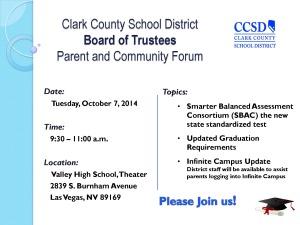 10.07.14 Parent & Community Forum Flyer