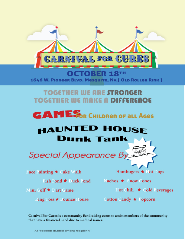 Carnival for Cures Saturday