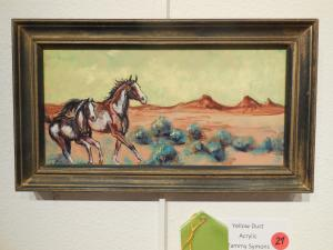 Honorable Mention, Yellow Dust by Tammy Symons