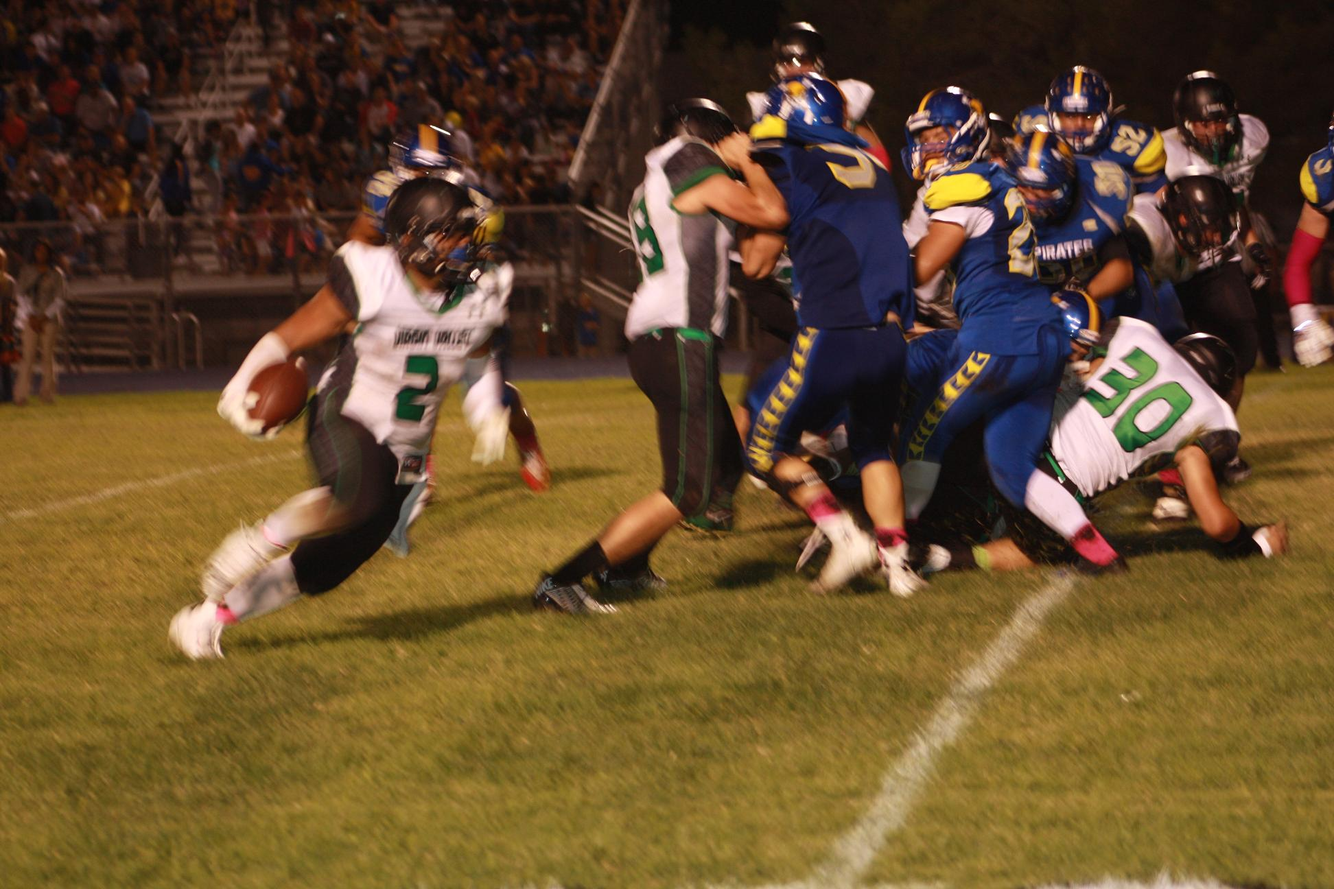 Turnovers doom Bulldogs in 35-7 loss to Pirates