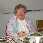 Joyce Burke Paintings Offered in Benefit Auction