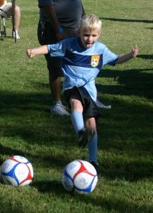 Five-year old Dallin Avertt.