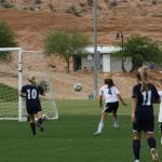 Bulldog soccer teams defeat Eagles 7-2 and 6-1
