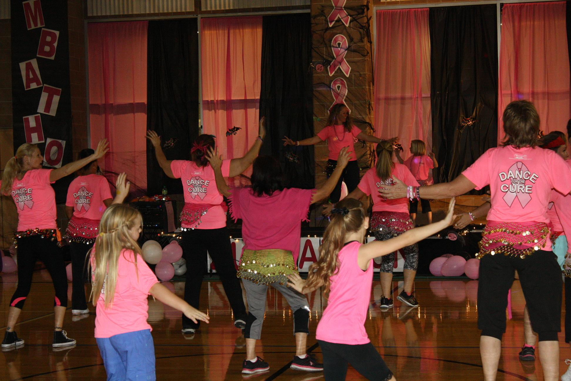 'Zumbathon' beat rocks recreation center Gym