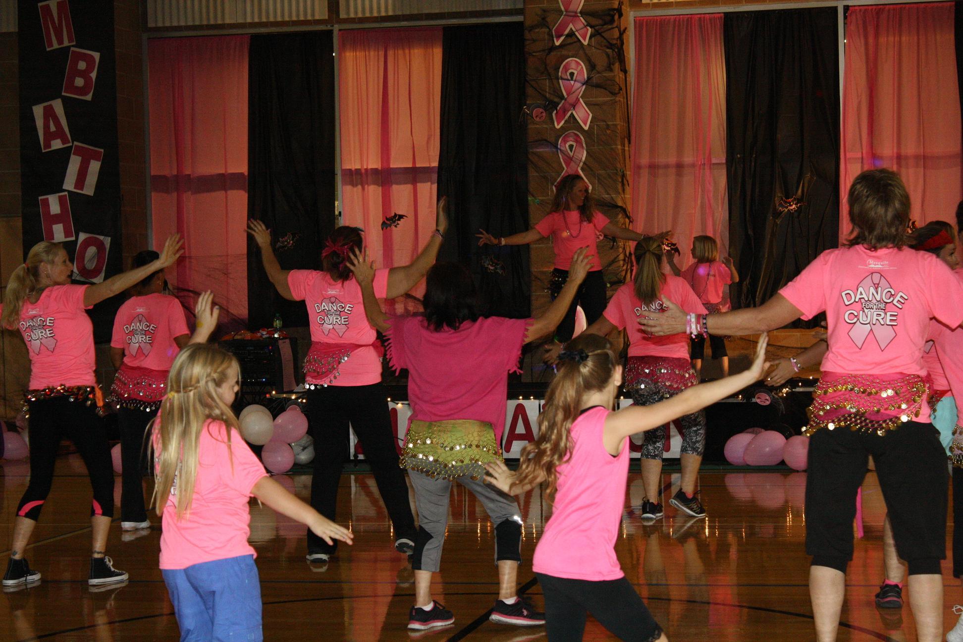 'Zumbathon' beat rocks recreation center Gym
