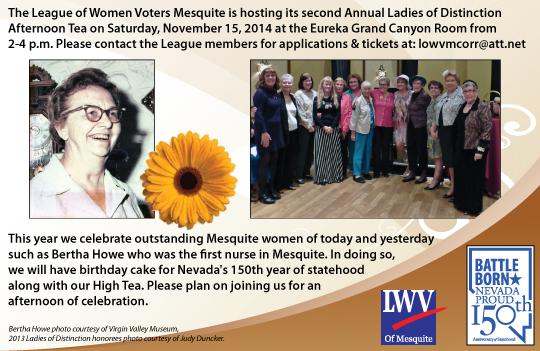 Women of Distinction Flyer 2014