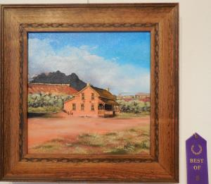 Dusty Trails to Grafton by Miriam Rawson was named Best of Show