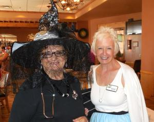 Valerie Thompson the Witch Doctor, with Teeny Bopper Brenda Agan