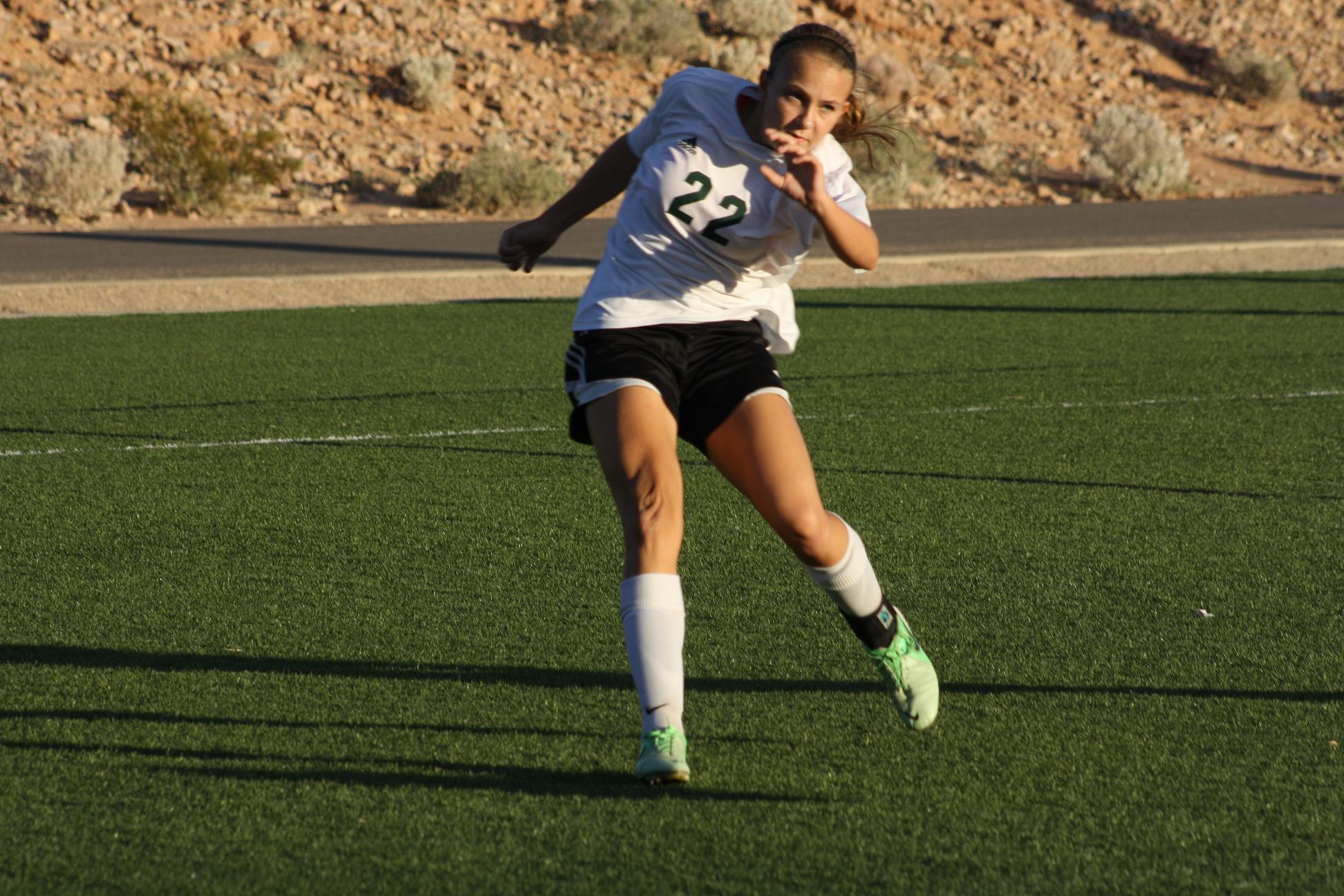 Bulldog soccer gals defeat Dragons 3-0