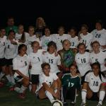 Soccer gals defeat Miners 2-0 clinch second seed in Southern Division 1-A playoffs