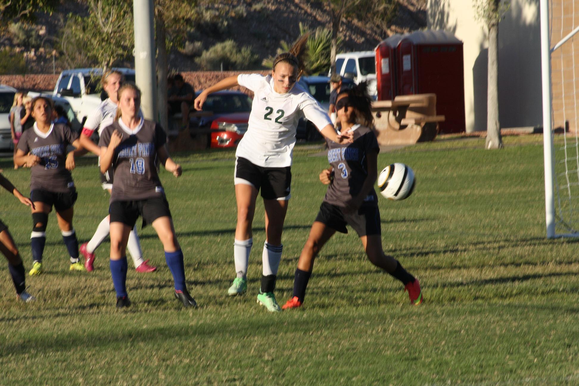 Defensive struggle ends in 1-1 tie for Bulldog soccer gals
